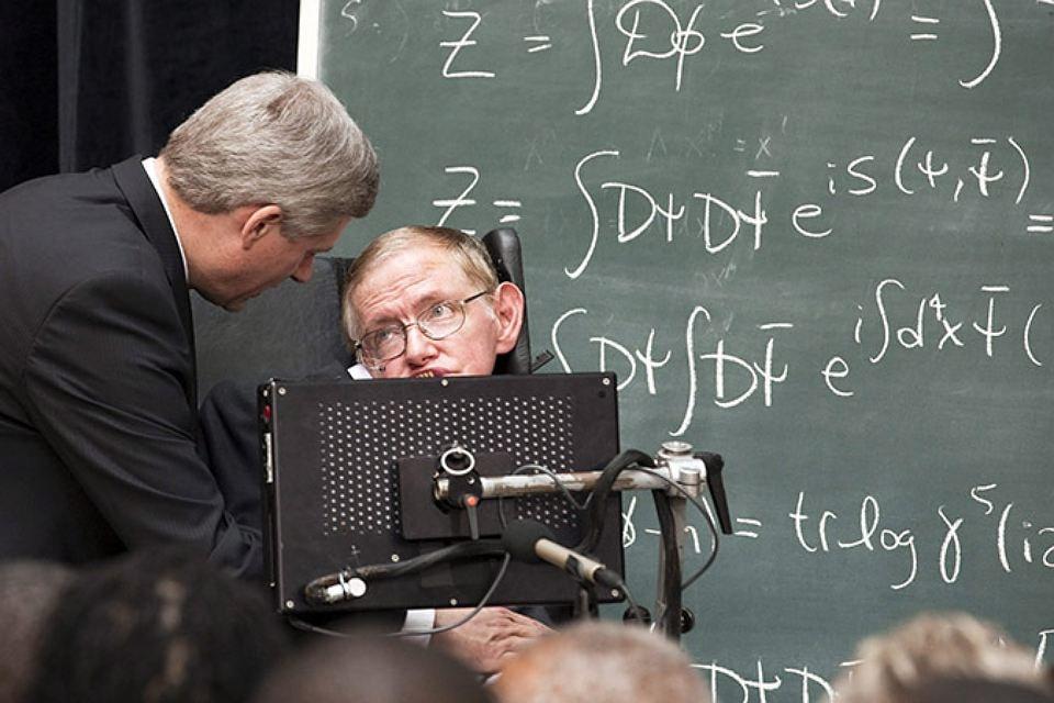 IQ Стивена Хокинга 160