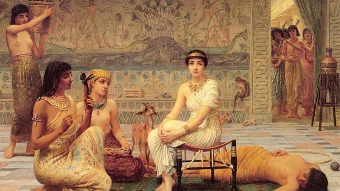 Клеопатра убила своего любовника