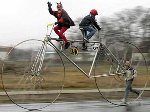 Самый большой классический велосипед