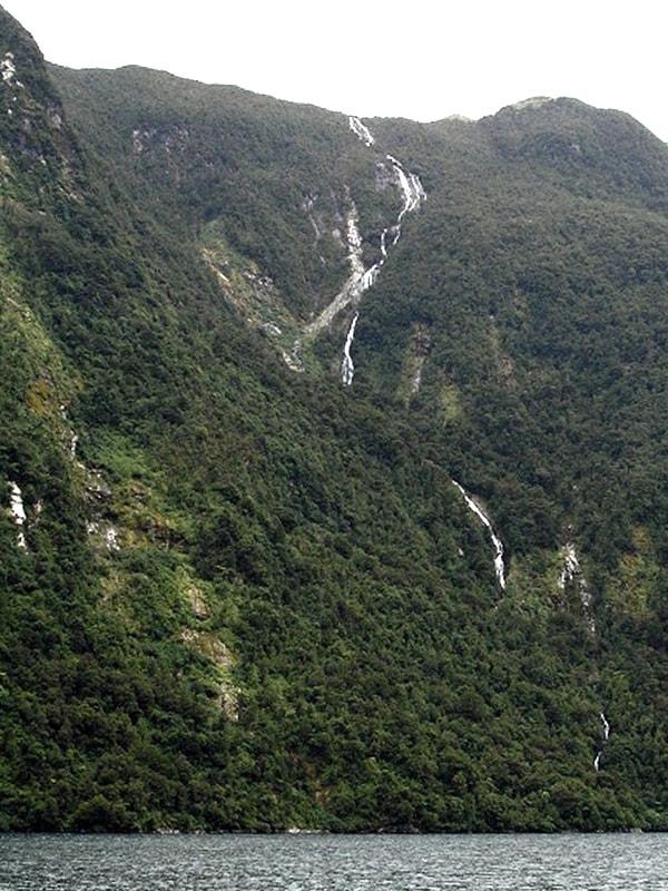 Самые высокие водопады Браун