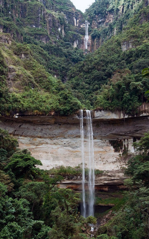 Самые высокие водопады мира Умбилла