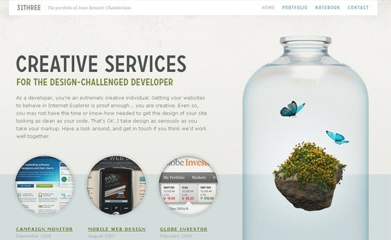 Интернет сайт - уникальный дизайн