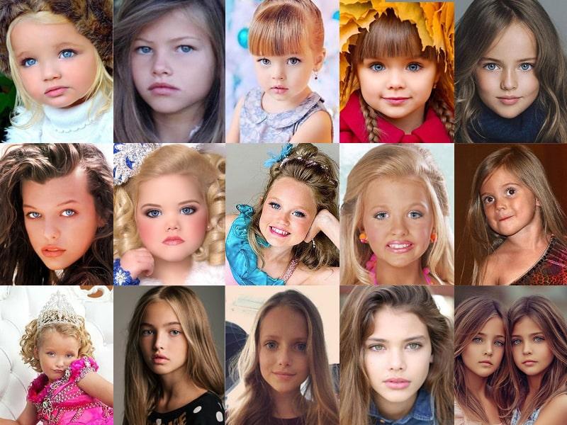 Самые красивые девочки мира