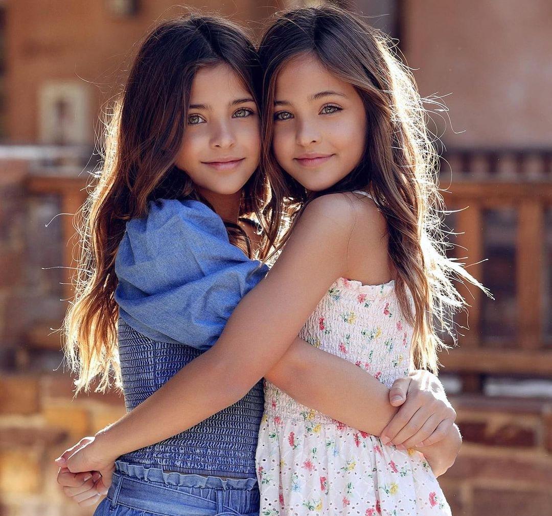 Самые красивые девочки мира: Лиа Роуз и Ава Мари