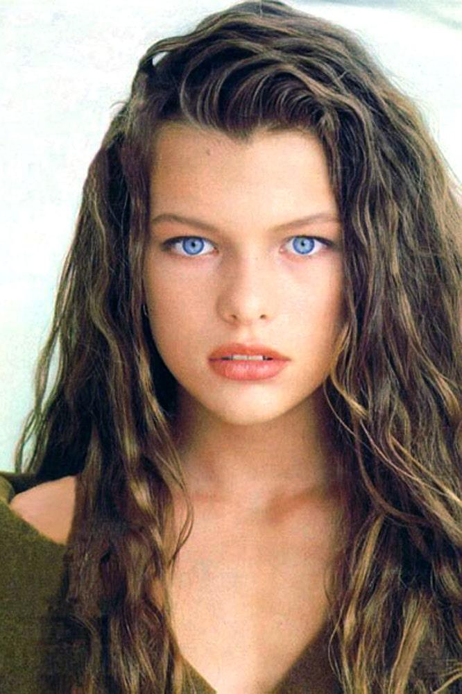 Самые красивые девочки мира: Мила Йовович