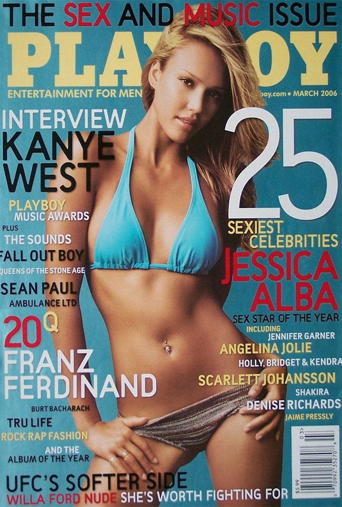 Фото самой сексуальной женщины в мире Джессики Альбы на обложке Playboy