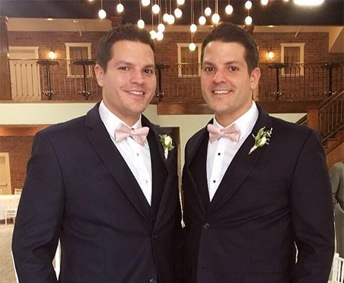 Близнецы братья: Джош и Джереми Сэлиерз