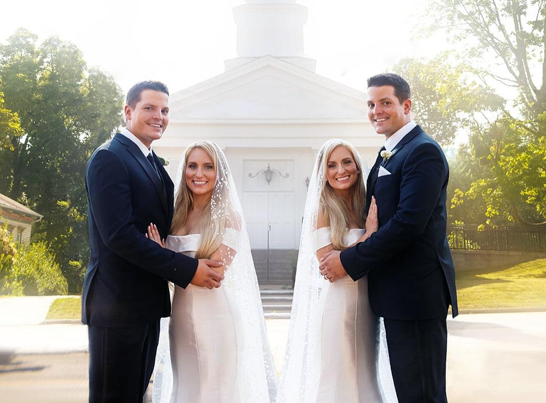 Свадьба пар близнецов